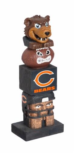 Chicago Bears Team Garden Statue Perspective: front