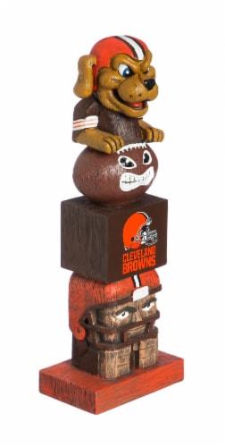 Cleveland Browns Team Garden Statue Perspective: front