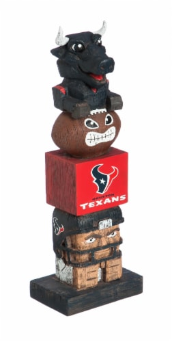 Houston Texans Team Garden Statue Perspective: front
