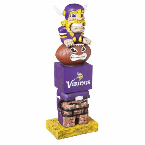 Minnesota Vikings Team Garden Statue Perspective: front