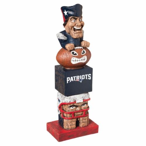 New England Patriots Team Garden Statue Perspective: front