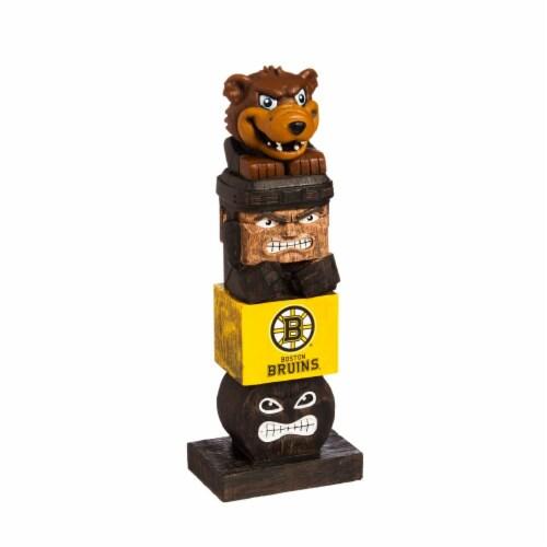 Boston Bruins Team Garden Statue Perspective: front