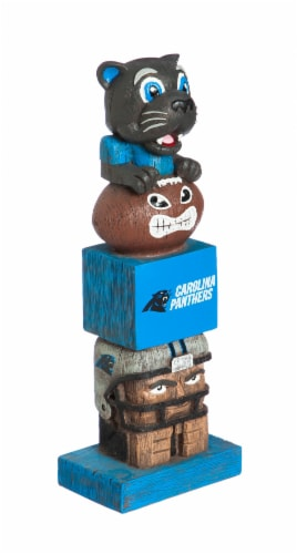 Carolina Panthers Team Garden Statue Perspective: front