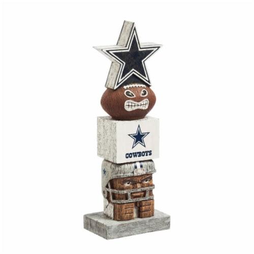 Dallas Cowboys Team Garden Statue Perspective: front
