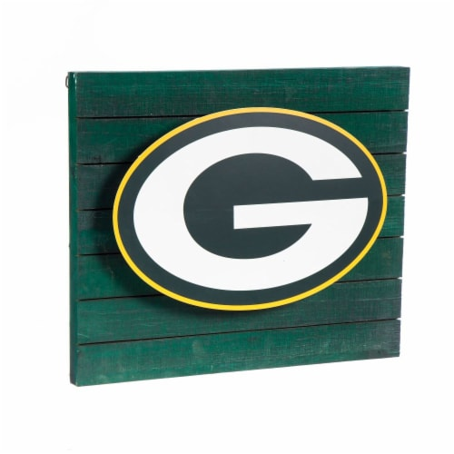 Green Bay Packers Lit Wall Decor Perspective: front