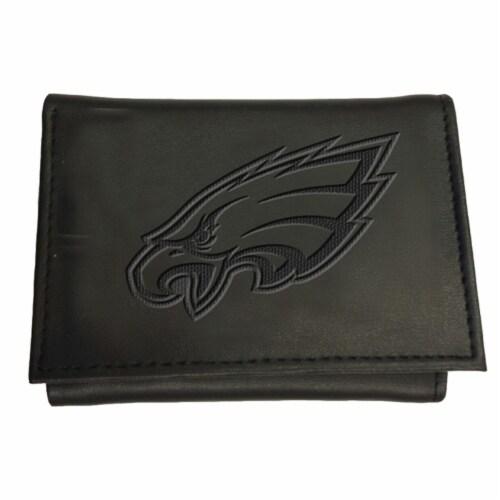 Philadelphia Eagles Tri-Fold Wallet Perspective: front