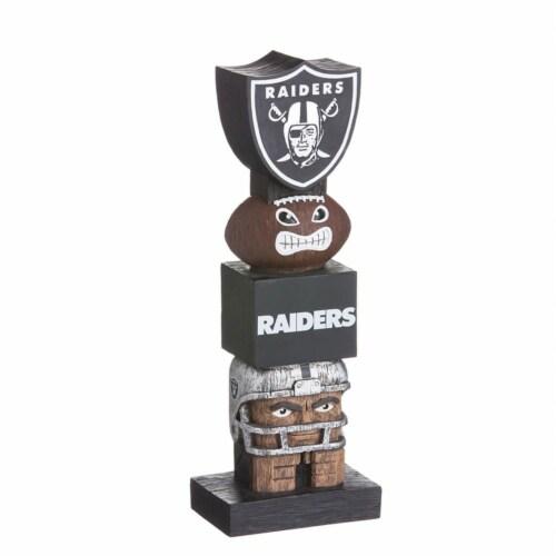 Las Vegas Raiders Shiled Team Garden Statue Perspective: front