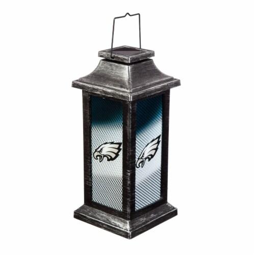 Philadelphia Eagles Solar Garden Lantern Perspective: front