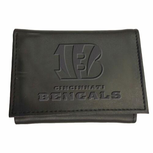 Cincinnati Bengals Tri-Fold Wallet Perspective: front