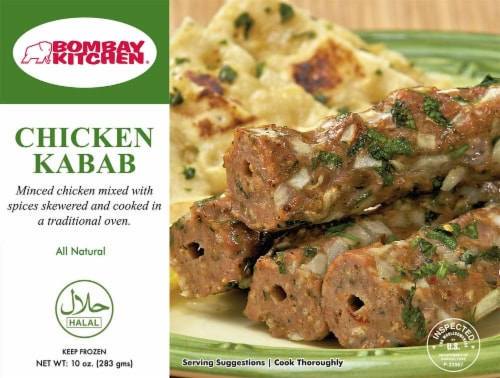 Bombay Kitchen Chicken Kabab Perspective: front