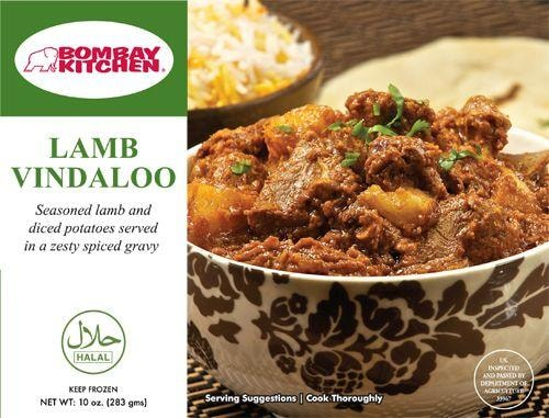 Bombay Kitchen Lamb Vindaloo Perspective: front