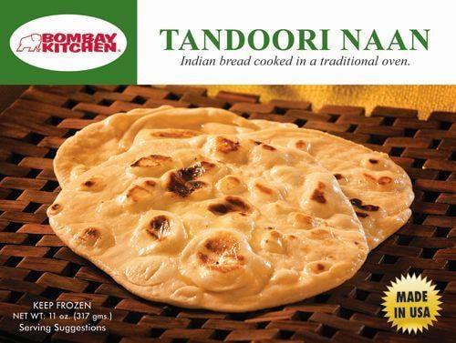Bombay Kitchen Tandoori Naan Perspective: front