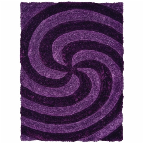 United Weavers of America 2100 21783 24 1 ft. 10 in. x 3 ft. Finesse Pinnacle Violet Rectangl Perspective: front