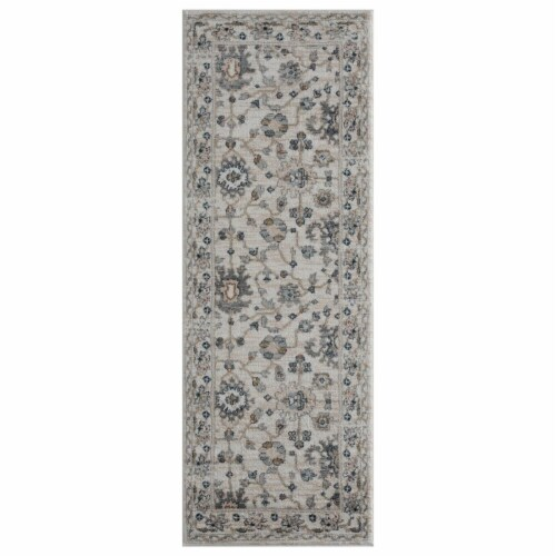 United Weavers of America 4500 10926 28E Century Linx Beige Runner Rug, 2 ft. 7 in. x 7 ft. 2 Perspective: front