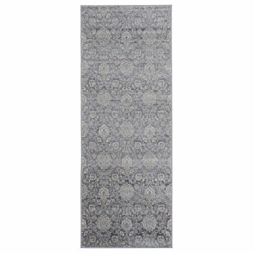 United Weavers of America 4000 40290 28E 2 ft. 7 in. x 7 ft. 2 in. Clairmont Limassol Cream R Perspective: front