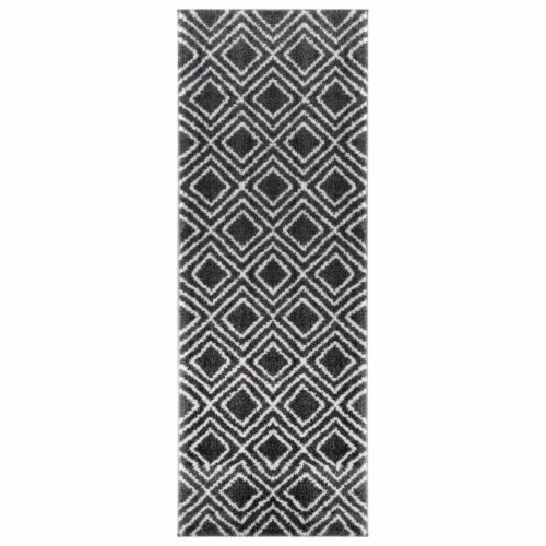 United Weavers of America 1840 20077 28E 2 ft. 7 in. x 7 ft. 2 in. Tranquility Stellan Smoke Perspective: front