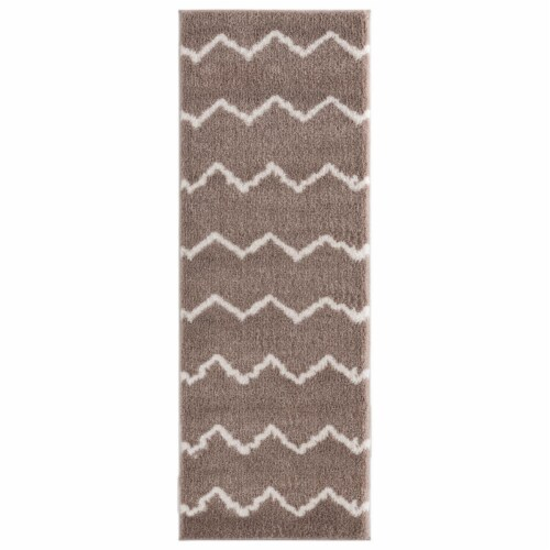United Weavers of America 1840 20426 28E 2 ft. 7 in. x 7 ft. 2 in. Tranquility Galen Beige Re Perspective: front