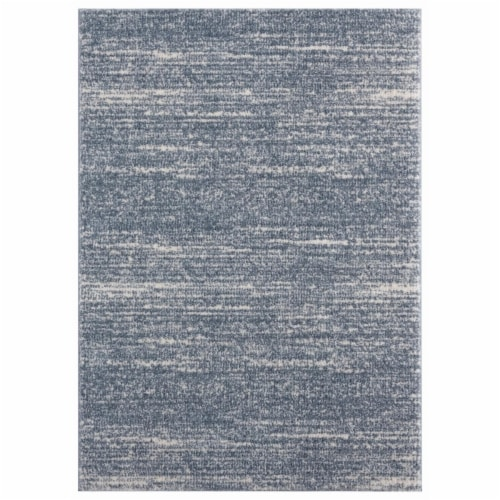 United Weavers of America 1840 20867 24 1 ft. 11 in. x 3 ft. Tranquility Zuelia Blue & Gray R Perspective: front