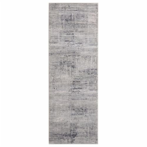 United Weavers of America 4520 10360 58 Aspen Olathe Blue Area Rectangle Rug, 5 ft. 3 in. x 7 Perspective: front