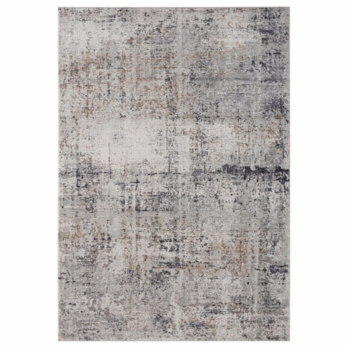 United Weavers of America 4520 10372 912 Aspen Olathe Grey Area Rectangle Rug, 7 ft. 10 in. x Perspective: front