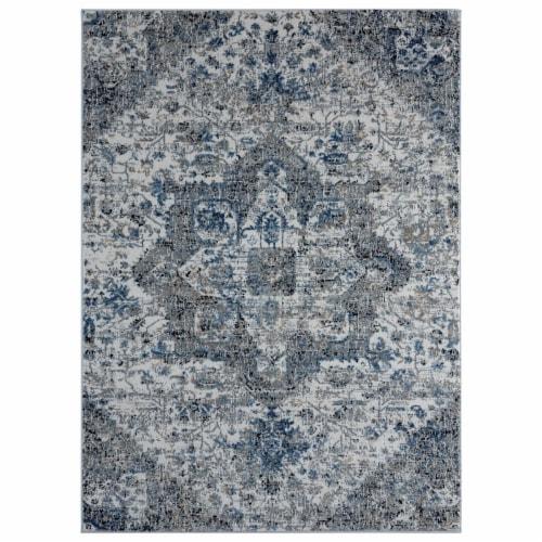 United Weavers of America 4535 10475 1215 Eternity Callisto Beige Rectangle Rug, 12 ft. 6 in. Perspective: front