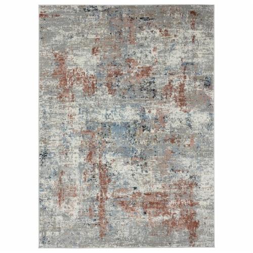 United Weavers of America 4535 10336 28E Eternity Elixir Crimson Runner Rug, 2 ft. 7 in. x 7 Perspective: front