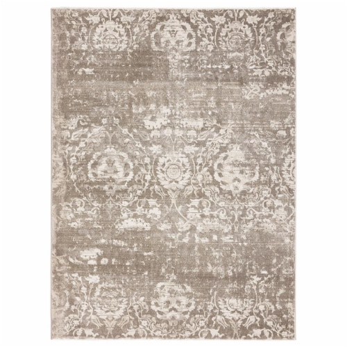 United Weavers of America 1855 20594 46 Imperial Regulus Taupe Area Rectangle Rug, 3 ft. 11 i Perspective: front