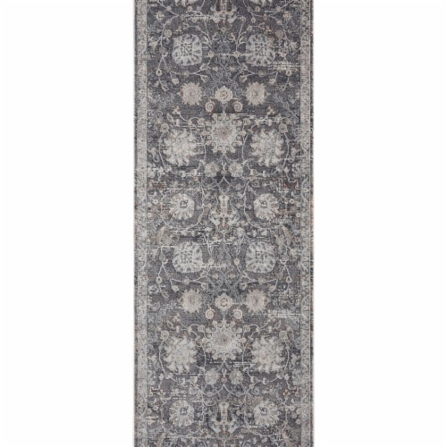 United Weavers of America 404 20472 28E 2 ft. 7 in. x 7 ft. 2 in. Glamour Elegance Transition Perspective: front