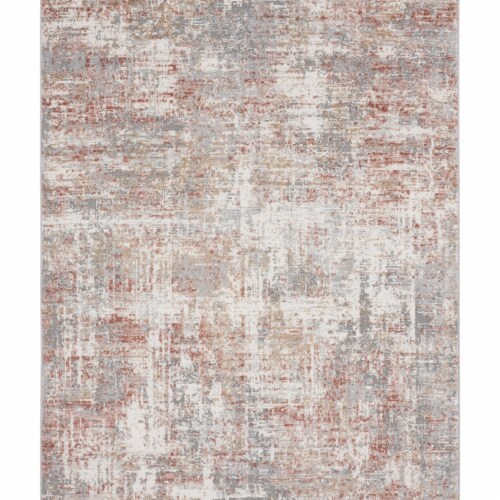 United Weavers of America 4540 20158 58 Austin Elegance Rust Area Rectangle Rug, 5 ft. 3 in. Perspective: front