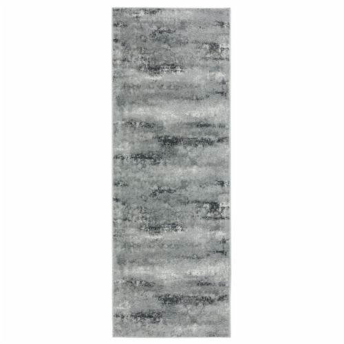 United Weavers of America 2610 20291 28E Veronica Parker Wheat Runner Rug, 2 ft. 7 in. x 7 ft Perspective: front