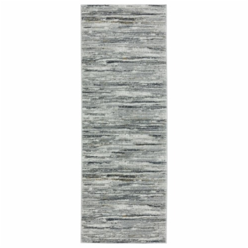 United Weavers of America 2610 20591 28E Veronica Riseley Wheat Runner Rug, 2 ft. 7 in. x 7 f Perspective: front