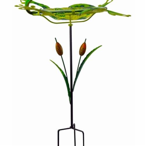 Red Carpet Studios 3D Bird Bath - Frog Perspective: front