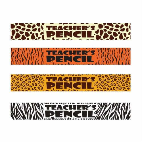 Safari Teacher Pencils, Box of 144 Perspective: front