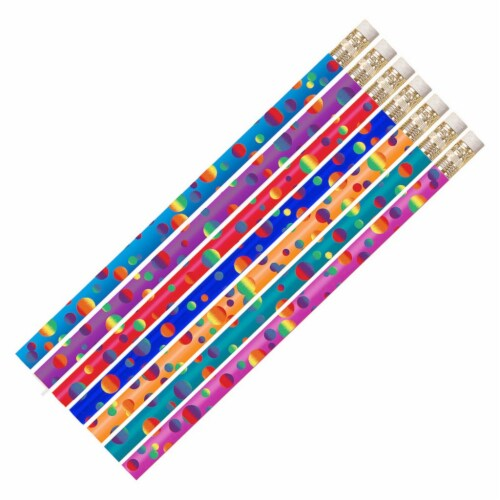 Color Confetti Pencil, Pack of 12 Perspective: front