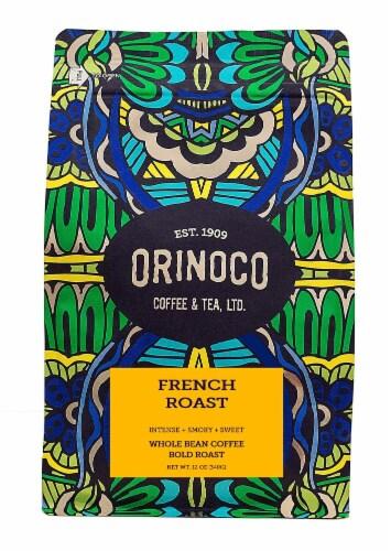 Orinoco Coffee & Tea  Whole Bean Coffee Bold Roast    French Roast Perspective: front