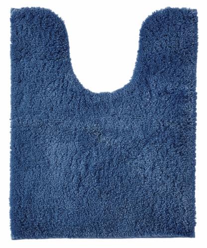 Martha Stewart Airmaster Rug - Delft Blue Perspective: front