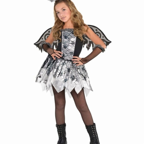 Amscan 281795 Halloween Fallen Angel Child Costume - Large Perspective: front