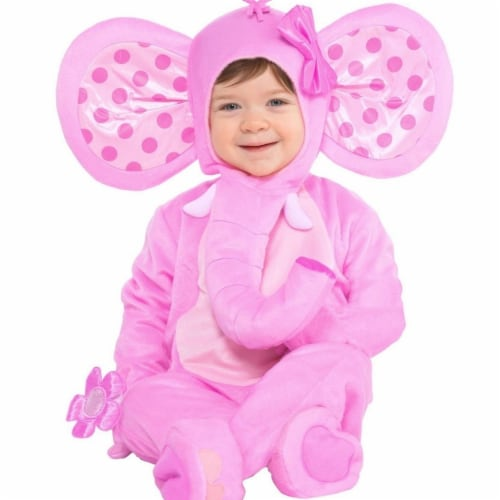 Amscan 402933 Elephant Sweetie Costume - Large Perspective: front
