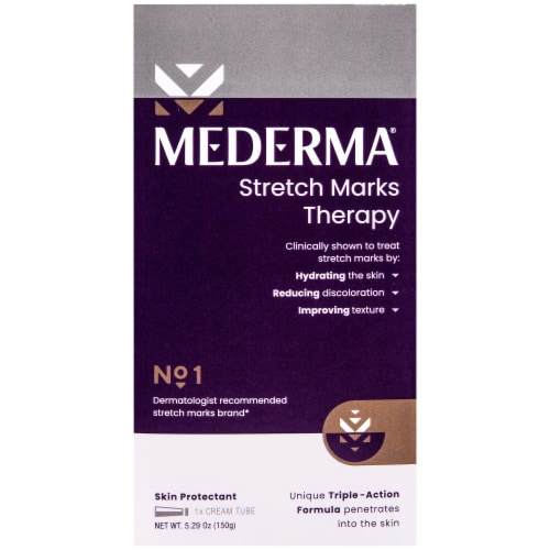 Mederma Stretch Marks Therapy Skin Protectant Cream Perspective: front