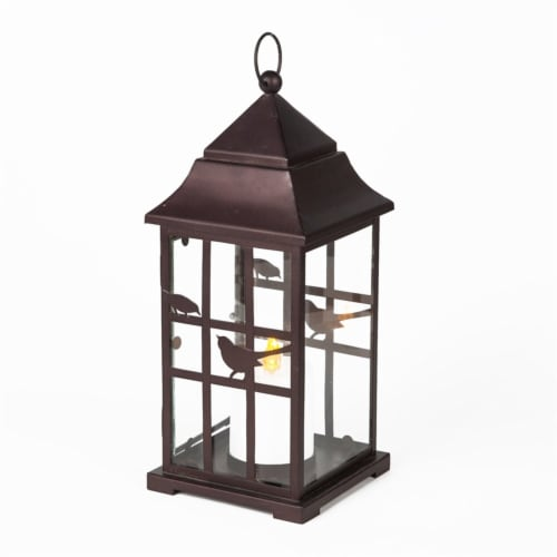 Winsome House Birdhouse LED Lantern Perspective: front