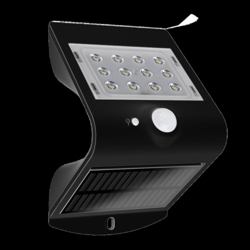 Luxen Home WHSL454 Butterfly-Style Solar Wall or Step Motion Sensor Light Perspective: front