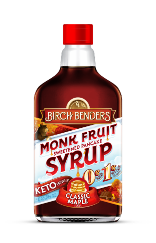Birch Benders Magic Syrup Classic Maple Flavored Syrup Perspective: front