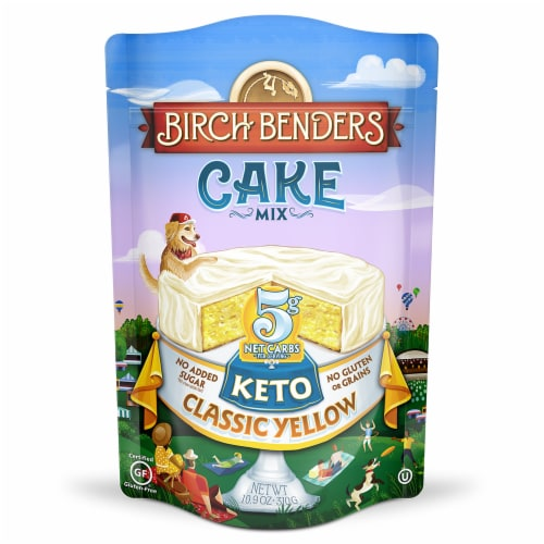 Birch Benders Keto Classic Yellow Cake Mix Perspective: front