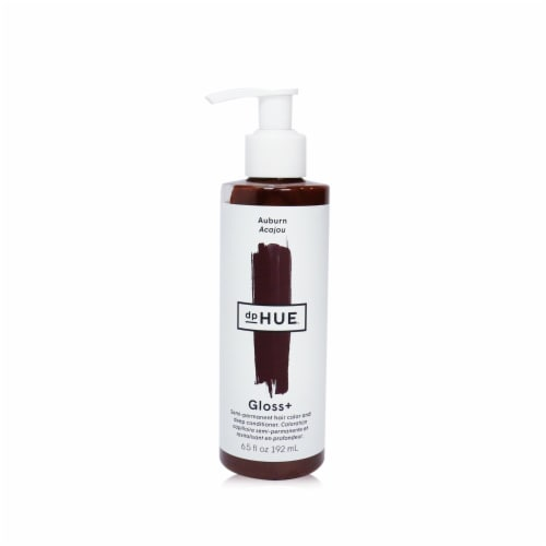 dpHUE Gloss+ SemiPermanent Hair Color and Deep Conditioner  # Auburn 192ml/6.5oz Perspective: front