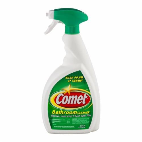 Comet  No Scent Kitchen and Bathroom Cleaner  Liquid  32 oz. - Case Of: 9; Perspective: front