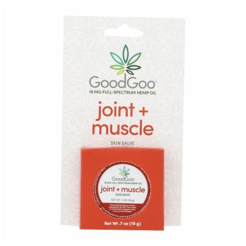 Green Goo Good Goo - Hemp Salve Joint & Muscle - 1 Each - .7 OZ Perspective: front
