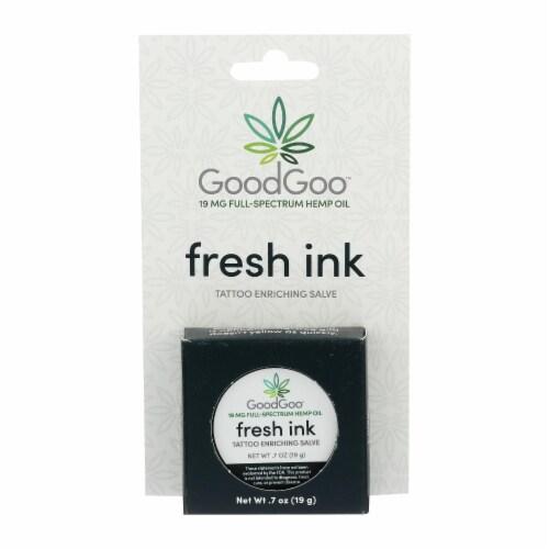 Green Goo Good Goo - Hemp Salve Tattoo Enrich - 1 Each - .7 OZ Perspective: front