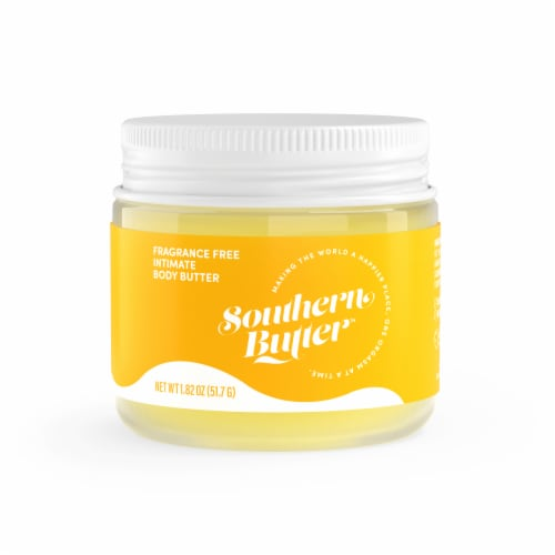 Southern Butter Fragrance Free Intimate Body Butter Perspective: front
