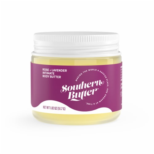 Southern Butter Rose + Lavender Intimate Body Butter Perspective: front