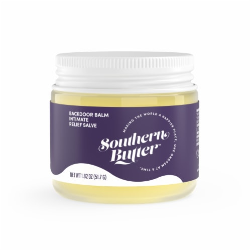 Southern Butter Backdoor Balm Intimate Relief Salve Perspective: front